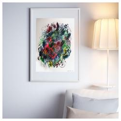 színes absztrakt akril kortárs festmény eladó