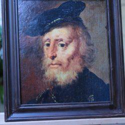 Németalföldi kereskedő portré