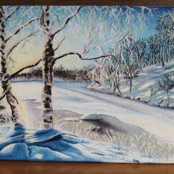 Téli tájkép