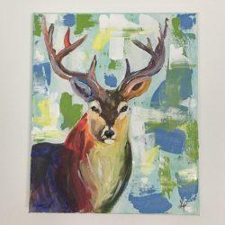 szarvas festmény eladó