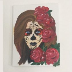 Dead girl painting for sale