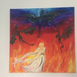 A sárkányok anyaj festmény eladó