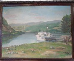 Festmény ismeretlen festőtől