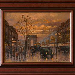 Szert Károly Alkonyi fények Párizsban