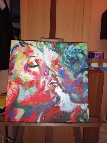 The Kiss Jos Coufreur másolat